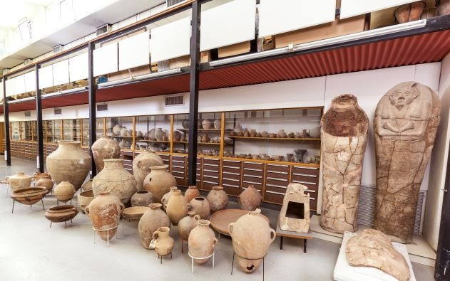 The Archaeological Collections Hall (Photo Tal Rogovski).